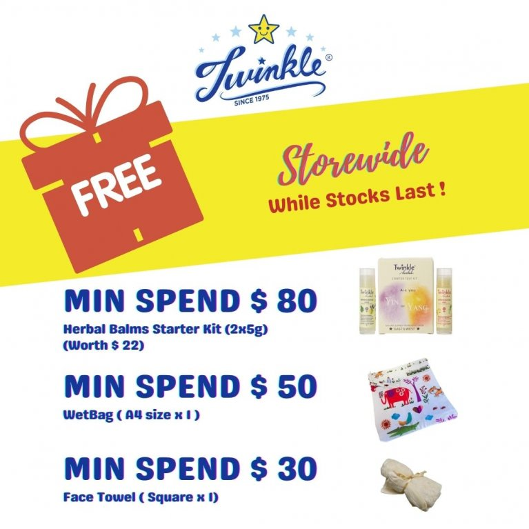 Free Gift for Min Spend