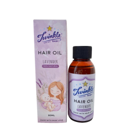 Baby Hair Oil Lavender 80ml