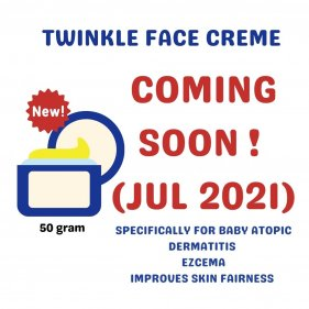 Twinkle Face Creme 50g