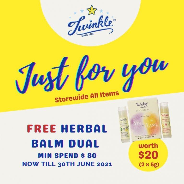 Herbal Balm Promo