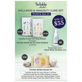 Twinkle Wellness & Immunity Care Set