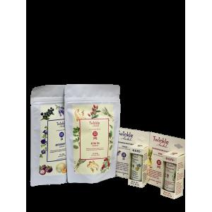 Twinkle Herbal Gift Set - Yin Yang Balm & Tea
