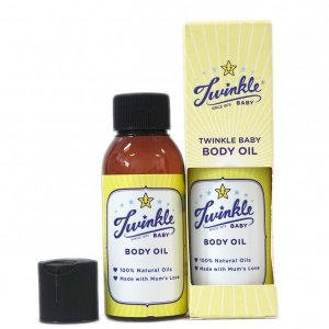 Baby Body Oil Natural 80ml